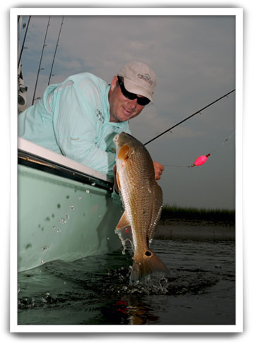 Captain Jeff Yates - Charleston, SC inshore fishing charters.